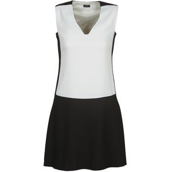 textil Dame Korte kjoler Joseph DORIA Sort / Hvid