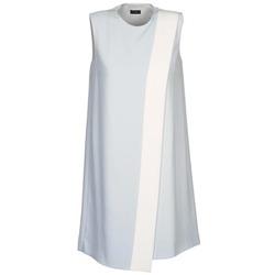 textil Dame Korte kjoler Joseph SOL Grå / Hvid