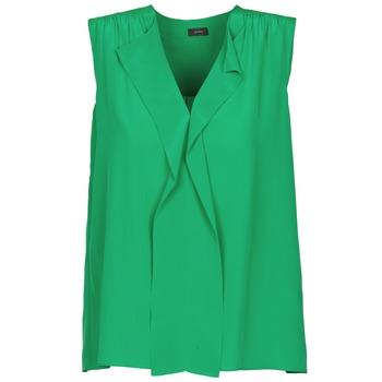 textil Dame Toppe / T-shirts uden ærmer Joseph DANTE Grøn