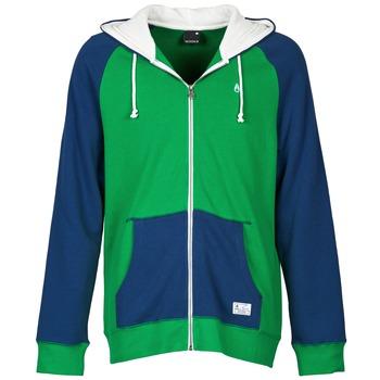 textil Herre Sweatshirts Nixon ANCHOR Blå / Grøn