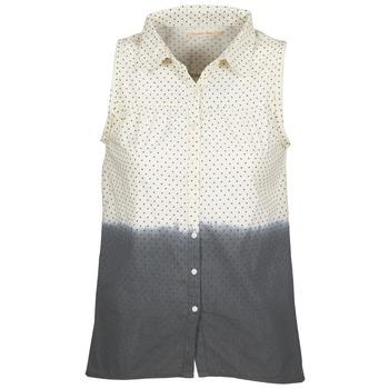textil Dame Skjorter / Skjortebluser Teddy Smith CAMILLE Blå / Beige