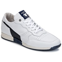 Sko Herre Lave sneakers Kost HOOPER Hvid / Marineblå