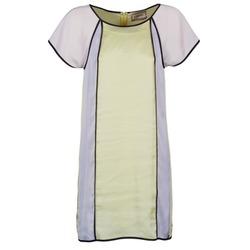 textil Dame Korte kjoler Chipie FREGENAL Gul / Grå