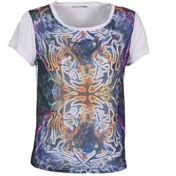 textil Dame T-shirts m. korte ærmer DDP PORIX Flerfarvet