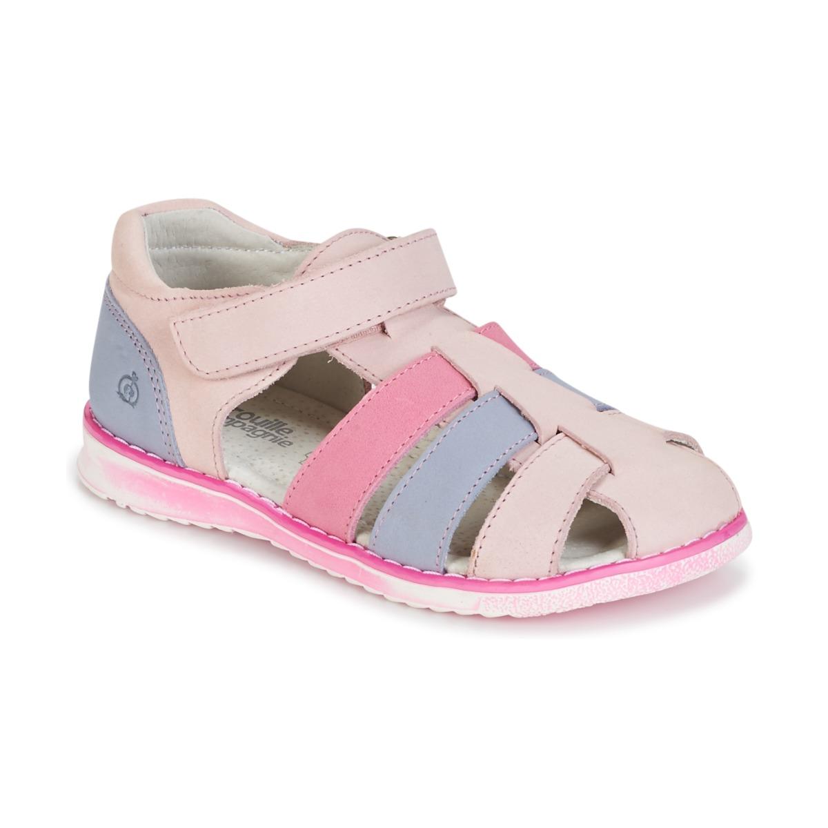 sandaler Citrouille et Compagnie FRINOUI Pink / Blå / LYS / Fuchsia