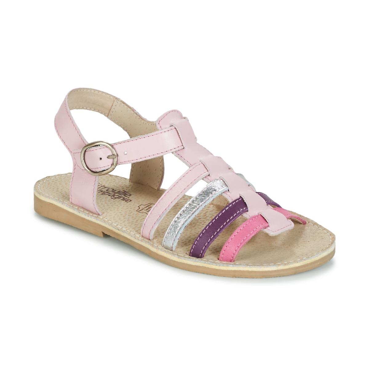 sandaler Citrouille et Compagnie JASMA Pink / Violet