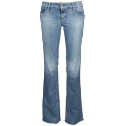 textil Dame Bootcut jeans Acquaverde ADRIANA Blå