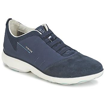 Sko Dame Lave sneakers Geox NEBULA C Marineblå