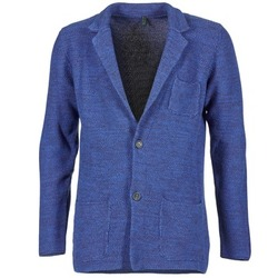 textil Herre Jakker / Blazere Benetton BLIZINE Marineblå