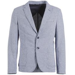 textil Herre Jakker / Blazere Benetton CHEVOTU Blå