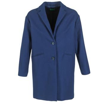 textil Dame Frakker Benetton AGRETE Marineblå
