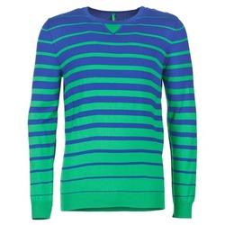 textil Herre Pullovere Benetton FODIME Marineblå / Grøn