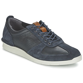 Sko Herre Lave sneakers Clarks POLYSPORT RUN Blå