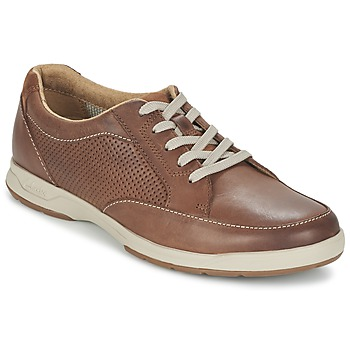 Sko Herre Lave sneakers Clarks STAFFORD PARK5 Brun