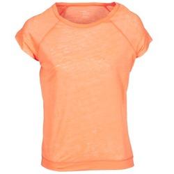 textil Dame T-shirts m. korte ærmer Majestic 2105 Orange / Fluo