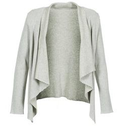 textil Dame Veste / Cardigans Majestic 4003 Grå