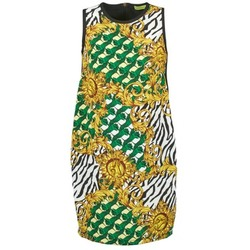 textil Dame Korte kjoler Versace Jeans NDM909 BIS Sort / Flerfarvet