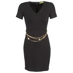 textil Dame Korte kjoler Versace Jeans NDM911 EASY Sort