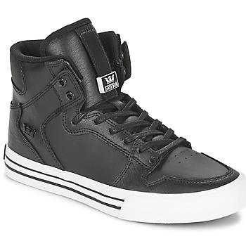 Sko Høje sneakers Supra VAIDER CLASSIC Sort / Hvid