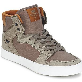 Sko Høje sneakers Supra VAIDER Brun