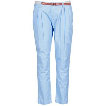 textil Dame Chinos / Gulerodsbukser La City PANTBASIC Blå