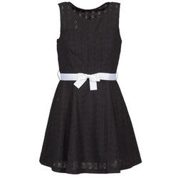 textil Dame Korte kjoler La City ROBEGUI Sort