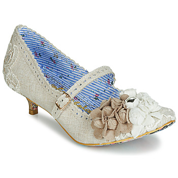 Sko Dame Pumps Irregular Choice DAISY DAYZ Beige / Flerfarvet