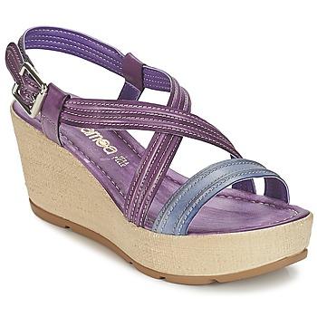 Sko Dame Sandaler Samoa JEBEMA Violet / Blå