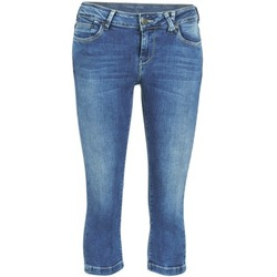 textil Dame Halvlange bukser Teddy Smith PANDOR COURT COMF USED Blå / Medium