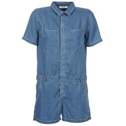 textil Dame Buksedragter / Overalls Teddy Smith CALINCA DENIM LYOCELL Blå