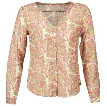 textil Dame Skjorter / Skjortebluser DDP GARDENIA Pink / Grøn
