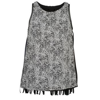 textil Dame Toppe / T-shirts uden ærmer Color Block PINECREST Grå / Sort / Hvid