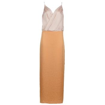 textil Dame Lange kjoler Lola RAPH Pink / Laks