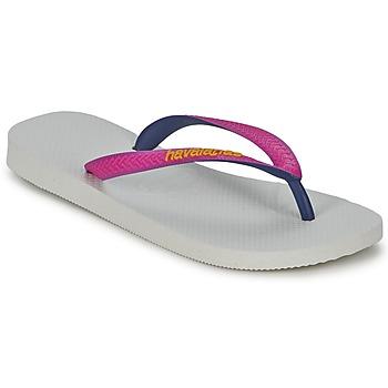 Sko Dame Klipklapper  Havaianas TOP MIX Hvid / Pink