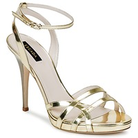 Sko Dame Sandaler Escada AS683 Guld