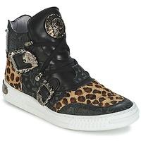 Sko Dame Høje sneakers New Rock ANTERLO Leopard