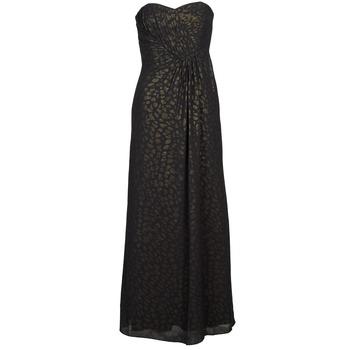 textil Dame Lange kjoler Manoukian 612930 Sort / Guld