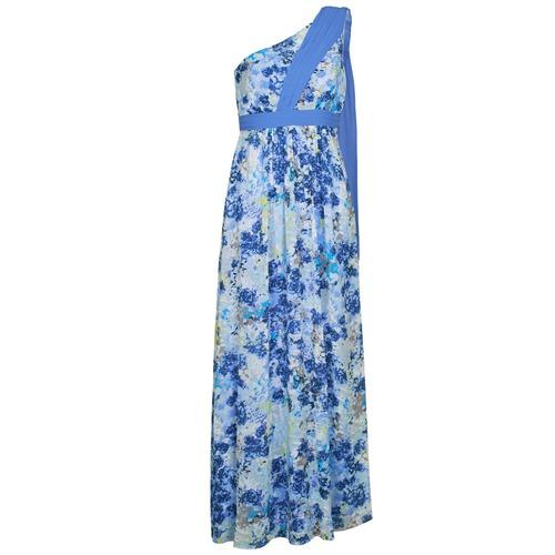 textil Dame Lange kjoler Manoukian 613356 Blå