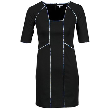 textil Dame Korte kjoler Manoukian 613369 Sort