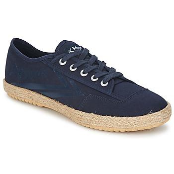 Sko Lave sneakers Feiyue FELO PLAIN Blå / Hvid