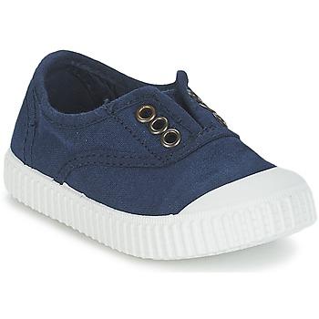 Sko Børn Lave sneakers Victoria INGLESA LONA TINTADA Marineblå