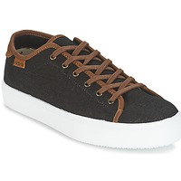 Sko Herre Lave sneakers Victoria BASKET LINO DETALLE MARRON Sort / Brun