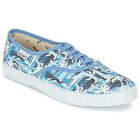 Sko Lave sneakers Victoria INGLES PALMERAS Blå