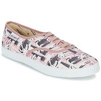 Sko Dame Lave sneakers Victoria INGLES PALMERAS Pink
