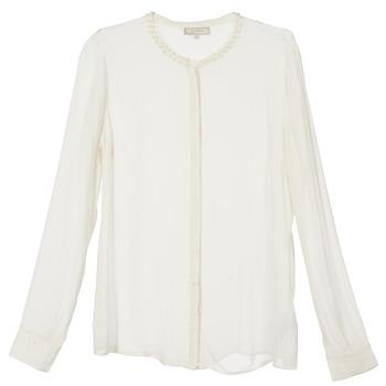 textil Dame Skjorter / Skjortebluser Cream PANSY BEIGE