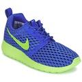 Sko Dreng Lave sneakers Nike ROSHE ONE FLIGHT WEIGHT BREATHE JUNIOR Blå / Grøn