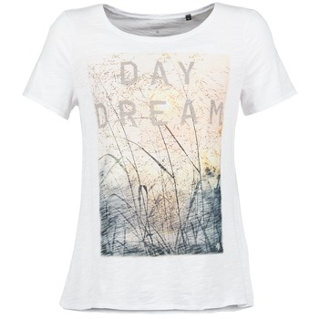 textil Dame T-shirts m. korte ærmer Marc O'Polo MOFRAGO Hvid