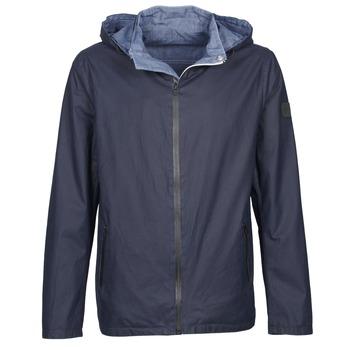 textil Herre Jakker Wrangler W4554VDJU Marineblå