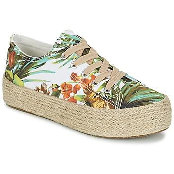 Sko Dame Lave sneakers Wildflower EGINA Grøn / Tropical