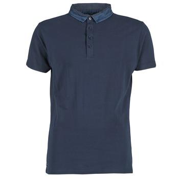 textil Herre Polo-t-shirts m. korte ærmer Deeluxe AGAINER Marineblå